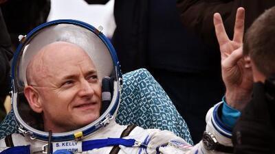 El astronauta Scott Kelly regresa a casa tras 340 días en el espacio