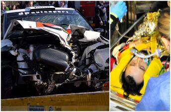 El fuerte accidente que por poco deja a Robert Kubica sin una mano en el 2011