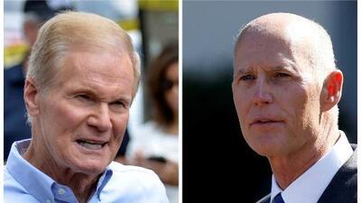 Así fue el primer debate entre Bill Nelson y el gobernador Rick Scott por el Senado federal