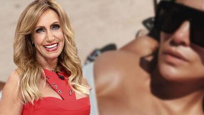 """Esta foto de JLo en traje de baño le recordó a Lili Estefan """"cuando uno se va a hacer un mamograma"""""""