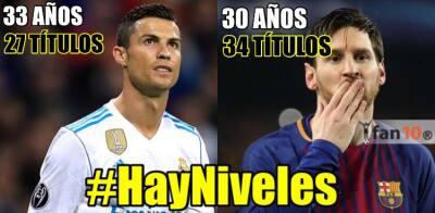 Los memes se acuerdan de Cristiano y Real Madrid en el título de Liga del Barcelona