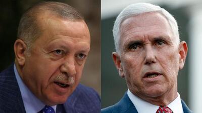 Presidente de Turquía acepta reunirse con el vicepresidente Mike Pence
