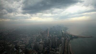 Según el pronóstico del tiempo, tendremos días de lluvias y tormentas esta semana en Chicago