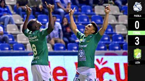 Puebla 0-3 León - RESUMEN Y GOLES – Jornada 14 - Clausura 2019 Liga MX