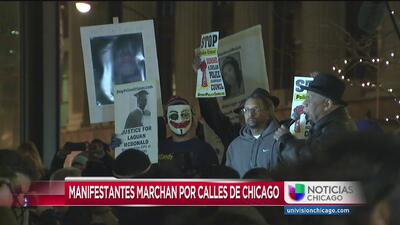 Marcha por Laquan McDonald en la Federal Plaza