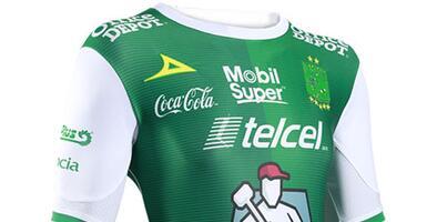 Camiseta Oficial de León de la Liga MX