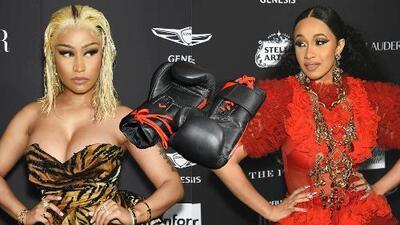 (Video) Cardi B se pelea con Nicki Minaj en evento de moda y los radioescuchas de La Gozadera escogieron bandos