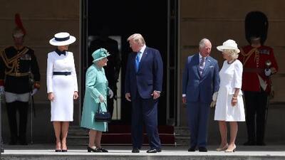 """Trump comienza su visita oficial al Reino Unido llamando """"asqueroso"""" al alcalde de Londres"""