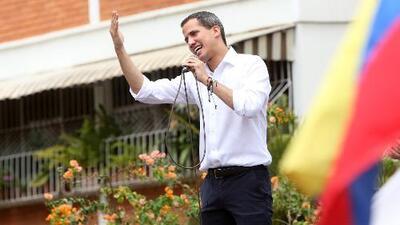 Guaidó llama a sus seguidores a protestar en las calles durante la visita de Michelle Bachelet a Venezuela