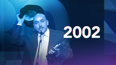 Gran celebración por 30 años de carrera de Juan Gabriel en la entrega de Premio Lo Nuestro 2002
