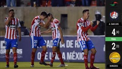 El Atlético remontó a los Dorados de Maradona y es campeón del Ascenso MX