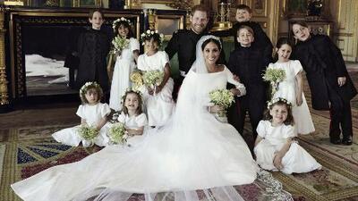 Este fue el mágico truco del fotógrafo de la boda de Meghan y Harry para que los niños se quedaran quietos