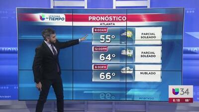 Pronostican un viernes frío y nublado hacia final del día