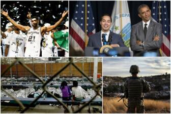 Sucesos que marcaron a San Antonio en 2014