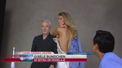 Giselle Bundchen se retira del modelaje