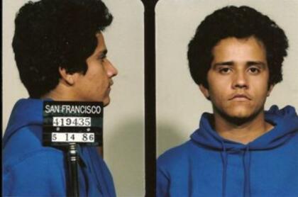 Esta fotografía de 'El Mencho' hace parte de la evidencia de la DEA: cuando fue arrestado en 1986 en San Francisco, California, por delitos relacionados con drogas.