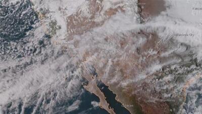 """""""ARk"""", la megatormenta que podría dejar amplias zonas de California bajo el agua"""