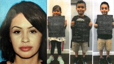 Encuentran sanos y salvos a una madre y sus tres hijos reportados como desaparecidos en Sylmar