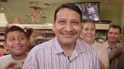 El Ángel de la Justicia le dio una gran noticia a una familia inmigrante