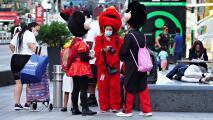 Una nueva ley en Nueva York reduciría la interacción de los personajes de Times Square con los turistas