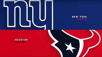 Highlights: New York Giants 27-22 Houston Texans | Semana 3