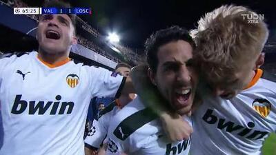 Dani Parejo puso el empate para el Valencia