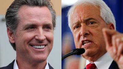 La lucha por la gobernación de California será entre el demócrata Gavin Newsom y el republicano John Cox