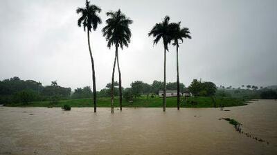 Alberto causa inundaciones en zonas de Cuba, posiblemente las peores en 100 años