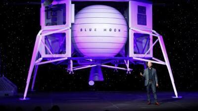 La nueva apuesta de Jeff Bezos: enviar cápsulas a la Luna