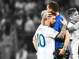 Agustín Marchesín y su consuelo para Lionel Messi
