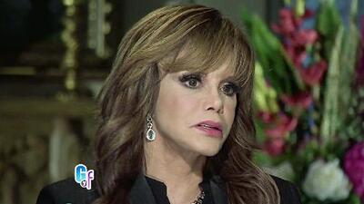 Lucía Méndez habló abiertamente de su romance con Luis Miguel