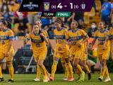 Resumen | Tigres Femenil humilla 4-1 a Rayadas y avanza a la Final
