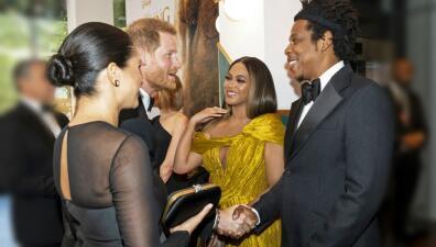 Meghan Markle y el príncipe Harry dejan a Archie en casa y se van al encuentro con Beyoncé