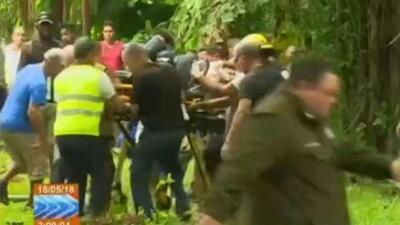 Video: Las tareas de rescate del avión comercial con 104 pasajeros a bordo que se estrelló en Cuba
