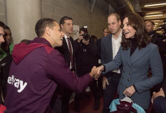 ¡Lord Chicharito!: Javier Hernández compartió con la familia real de Inglaterra