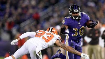 Kenneth Dixon se perderá la temporada de los Ravens