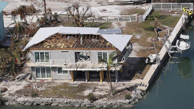 La destrucción masiva de Irma en el cayo Cudjoe, uno de los más afectados por el huracán