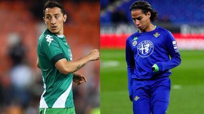 Los mexicanos Guardado y Lainez están considerados para enfrentar a la Real Sociedad
