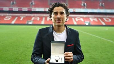 Guillermo Ochoa, jugador del mes en el Standard Lieja