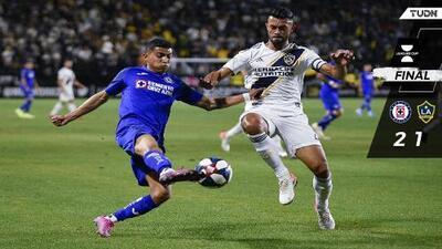 Cruz Azul conquista la galaxia angelina con golazo de Orbelín y jugara la final de la Leagues Cup