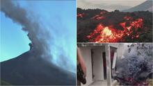 Cenizas y ríos de lava: imágenes del volcán Pacaya que amenaza a comunidades en Guatemala
