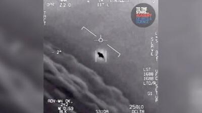 El Pentágono revela impactantes videos de objetos voladores no identificados