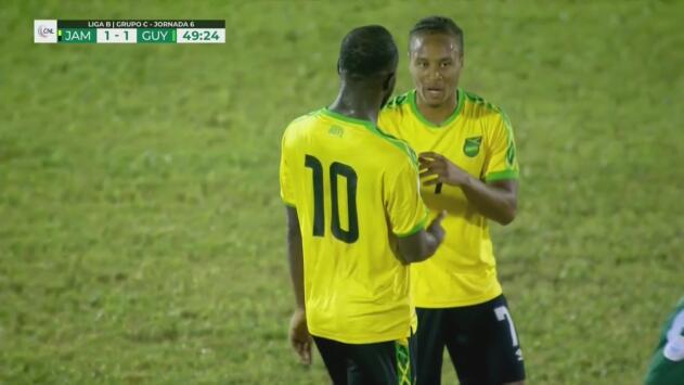 ¡Jamaica no se da por vencido!   Jamaica 1 - 1 Guyana   CONCACAF Nations League - J 6   TUDN