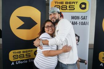 Lucky Beat listeners got to hit up Top Golf with French Montana