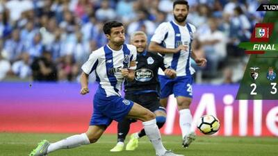Con 'Tecatito' y Marchesín, Porto logró agónica victoria