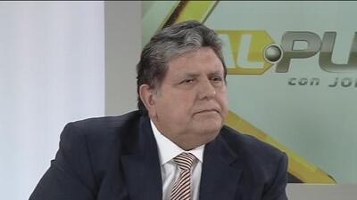 """""""No tengo ningún temor a eso"""": lo que le dijo Alan García a Jorge Ramos en 2012 sobre una posible investigación en su contra"""