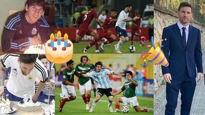 ¿Happy Birthday? Messi ha pasado 9 de 14 cumpleaños con la selección de Argentina
