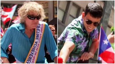 José Feliciano y Tito 'El Bambino' llegan al mismo desfile en Nueva York y así se ignoran