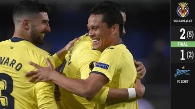 Moreno y Bacca acaban con el sueño del Zenit en la Europa League