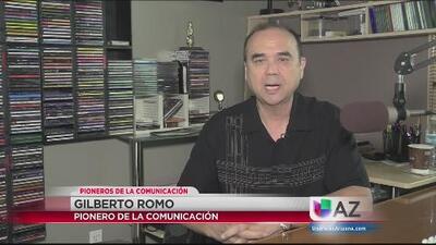 Gilberto Romo conoció su amor por la radio desde niño